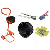 Hand Strapping Kit with Mobile Trolley, Tools, Strapping & Seals (Kit C1)